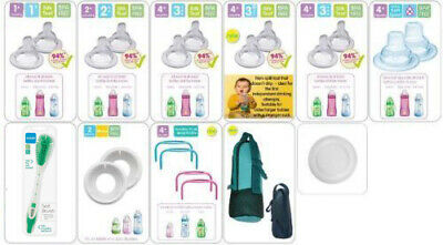 Mam Bottle Accessories (All Teats,Spout,Brush,Valves,Handles,Bottle Bag)
