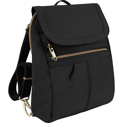 Travelon Anti-Theft Signature Slim Backpack - Exclusive Backpack Handbag NEW