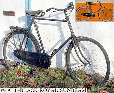 1927 Royal Sunbeam for Gentlemen Excellent Original Vintage Antique Bicycle