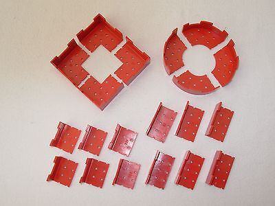 20 Red Turret Pieces