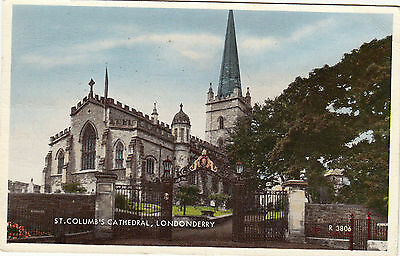 LONDONDERRY   ST  COLUMB'S  CATHEDRAL       ,  N  IRELAND  (a34)