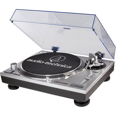 Audio-Technica AT-LP120-USB Direct-Drive Professional Turntable & Analog Refurb