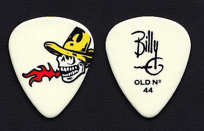 ZZ Top Billy Gibbons Signature Flaming Skull Guitar Pick - 2010
