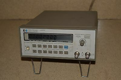 HP HEWLETT PACKARD MODEL # 5384A 250MHz FREQUENCY COUNTER