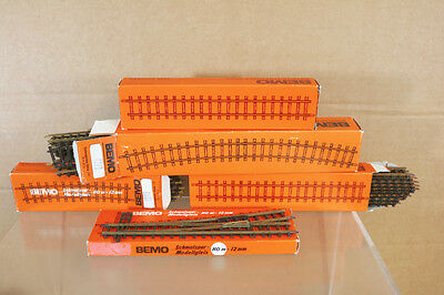 BEMO 4211 4275 4276 4281 000 HOm SCALE STAIGHT CURVE & POINT TRACK SET MIB nj