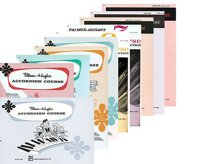 Palmer-Hughes Accordion Lesson Course - Complete Ten Book Pack - 25% Off!!
