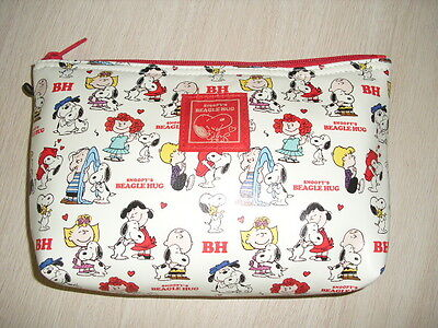 Peanuts Snoopy Cosmetic Bag Multipurpose Pouch pencil case #09