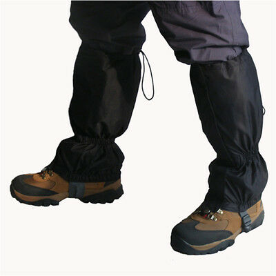 Waterproof Leg Gaiters boot shoe cover long legging nylon hunting hiking camping
