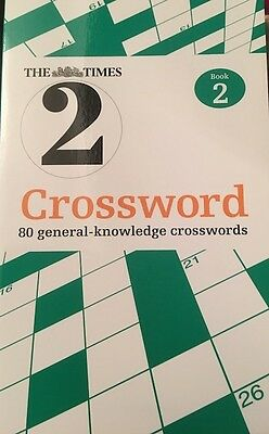 The Times Quick Crossword Book 2: Bk.2 (Paperback Book 2001)