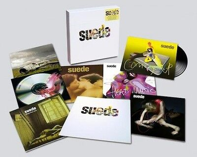 NEW & RARE Suede Vinyl album box set