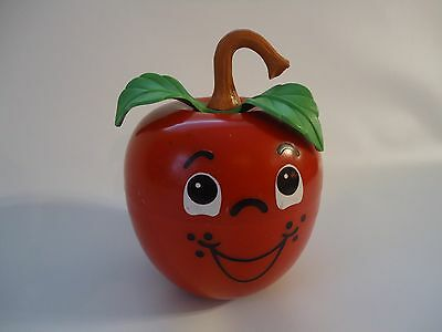 Vintage Fisher Price Happy Apple chime toy