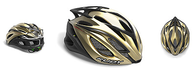 Casco Bici RUDY PROJECT RACEMASTER Gold-Shiny/HELMET RACEMASTER RUDY PROJECT