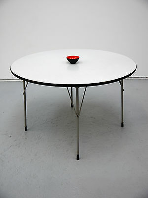 1950s VINTAGE ORIGINAL DINING TABLE BY WIM RIETVELD FOR GIPSEN NETHERLANDS DUTCH