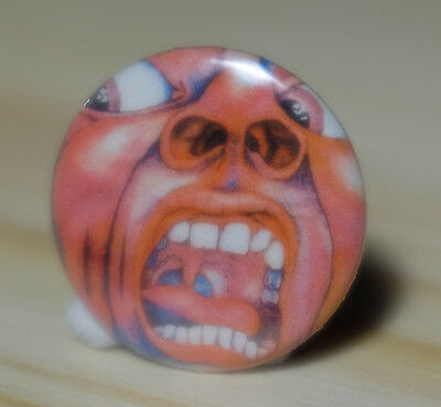KING CRIMSON - In The Court of the Crimson King 1969 Collectors Badge Pin-back