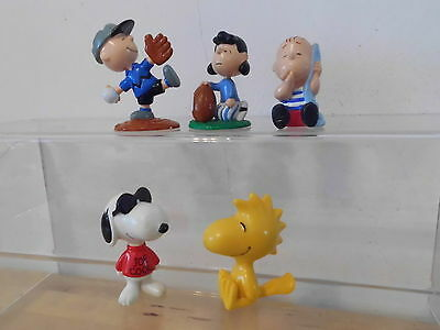 Peanuts Snoopy Applause 5 x Figur Set mit Lucy,Charlie Brown,Woodstock,Linus..