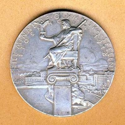 1912 STOCKHOLM Olympic Games PARTICIPATION MEDAL Olympics PARTICIPANT