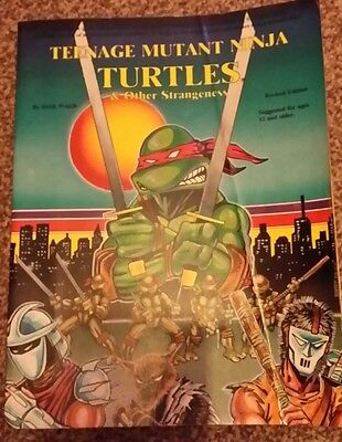Teenage Mutant Ninja Turtles and Other Strangeness Role Playing Game Rule Book
