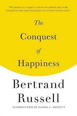 The Conquest of Happiness by Bertrand Russell Paperback Book (English)