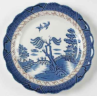 "Booths REAL OLD WILLOW 10"" Dinner Plate 9601513"