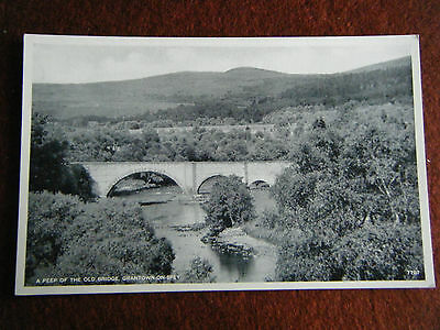 A PEEP OF THE OLD BRIDGE GRANTOWN ON SPEY J B WHITE Ltd THE BEST OF ALL SERIES