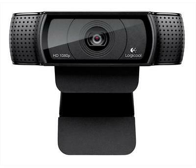 Webcam LOGITECH - HD PRO WEBCAM C920 RENOIR Nero - Webcam con cavo da 1,8 m
