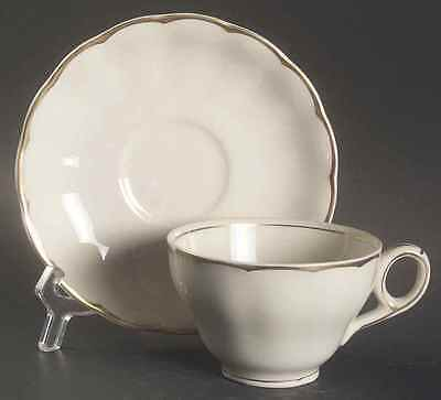 Grindley IMPERIAL (CREAM PETAL) Cup & Saucer 1855085