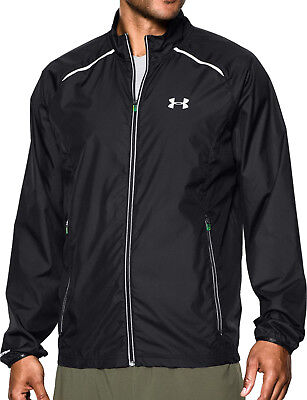 Under Armour Launch Storm Mens Running Jacket - Black