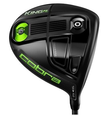 Cobra King F6 Driver Black Graphite Schaft Matrix Black Tie 60 Q4 Regular NEU