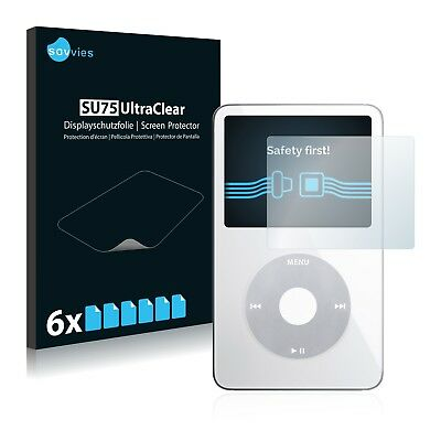 6x Savvies Screen Protector for Apple iPod classic video Display 5. Generation
