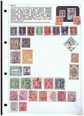 India & States unchecked  ranges from old collection (2) - 2 scans