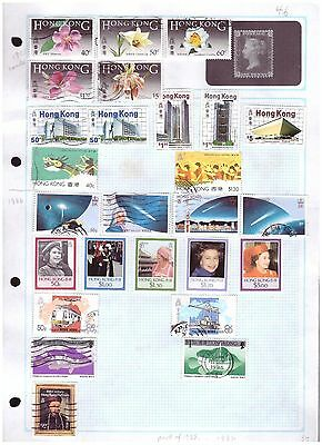 Hong Kong mostly fu  ranges from old collection (8) cat £40