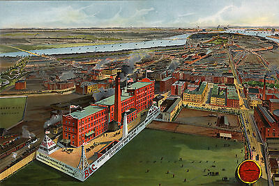 Print/sell High Res. 3D Panoramic Maps - Restored Art Images Dvd