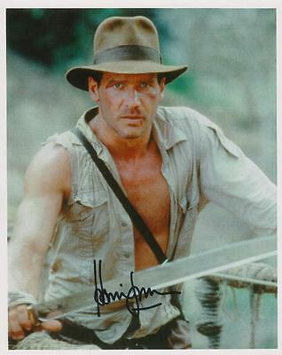 Harrison Ford- Indiana Jones Autographed 8X10 Color Photo Reprint (Ships Free) *