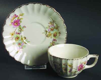 American Limoges BRAMBLE Cup & Saucer 317170
