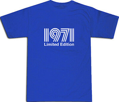 1971 Limited Edition Cool T-SHIRT S-XXL # Blue