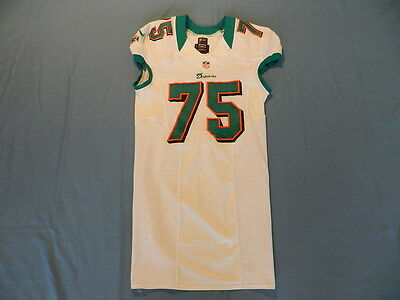 Nate Garner 2012 Miami Dolphins non game used jersey team issued Nike size 44+6
