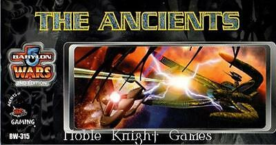 Agents of Gaming Babylon 5 Mini Ancients, The Box NM