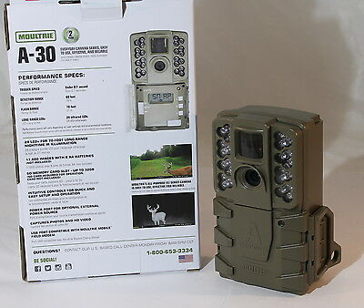 Fototrappola A-30 Moultrie, 12 Mp - Game Camera + Sd Card + Batterie