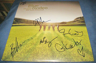 Blue Rodeo The Things We Left Behind Country 2LP Vinyl Record © 2009 Signed COA