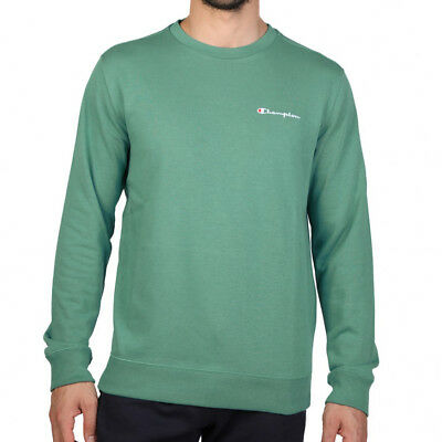 Champion Crew Neck Mens Sweatshirt - Green