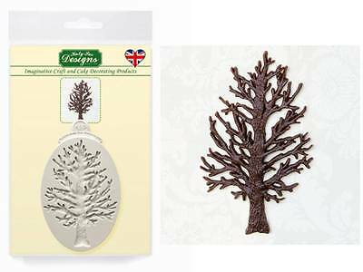 Katy Sue Little Tree Silhouette Silicone Sugarcraft Mould