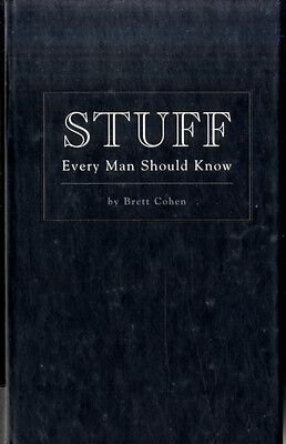 Stuff Every Man Should Know (Hardcover), Cohen, Brett, 9781594744143