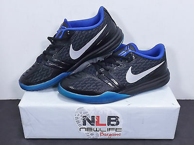 new concept 785cc a434f Nike KB Kobe Bryant Mentality (GS) 705387 005 Black Blue Silver Youth