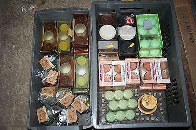Wholesale job lot shop clearance Mixed batch Candles single & sets scented x44