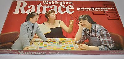 RATRACE  Board Game 1970s Waddingtons complete