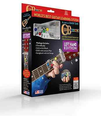 Chord Buddy Guitar Learning System Left-Handed Ed - Chord Buddy/bk/dvd 153583