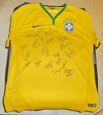 2016 Rio Olympic Woman Football Team Brazil Auto Jersey Nike L New tags w/COA