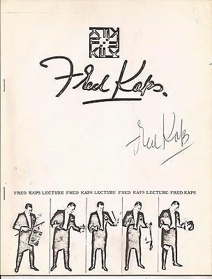 FRED KAPS LECTURE NOTES - Signed