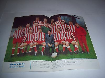 Football League Review Magazine 1968/69 #31 - Exeter City (Park Drive Version)