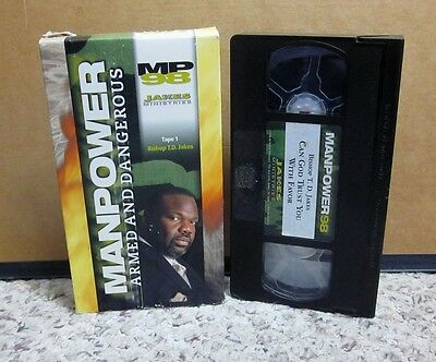 T  D  JAKES Manpower Armed And Dangerous 98 (5-Tape Audio
